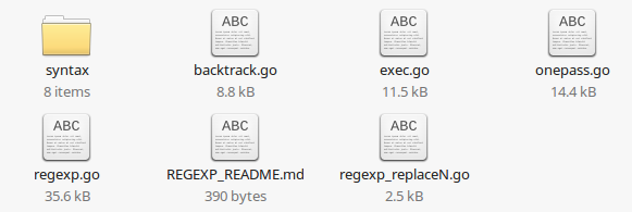 langur/regexp folder after copying files